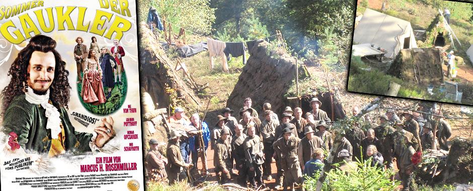 Filmbau Decotec - Kinofilm: Der Sommer der Gaukler - Historisches Bergwerk mit Erdhütten